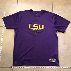 Vintage LSU Nike dry fit size large